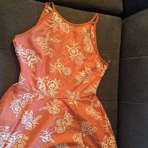 *Flawed* Honey and Rosie Summer Red Dress